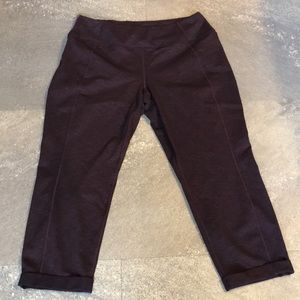 Lucy heathered crop pant XL